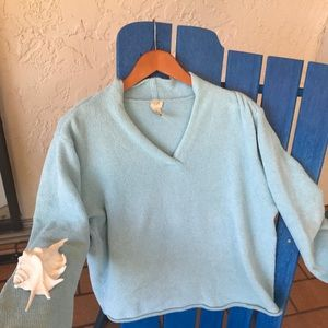 J. Jill cozy sweatshirt in MP, soft blue